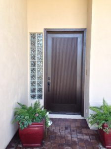 Specialty areas such as entryways require special care from a professional house painter | 866-802-0640