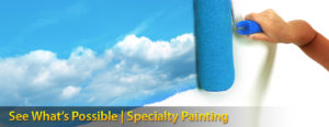 Specialty painting is a skill that a painting contractor can help you with | 866-802-0640